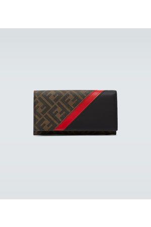Fendi FF logo continental wallet