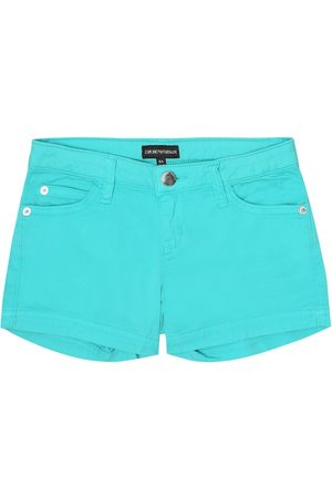 Emporio Armani Cotton twill shorts