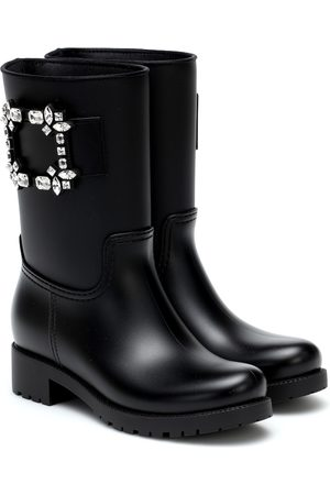 Roger Vivier Tempête Viv' Strass rubber boots