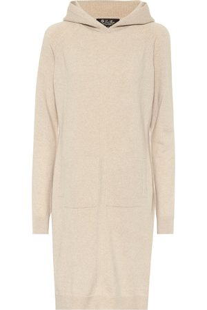 Loro Piana Merano hooded cashmere sweater dress