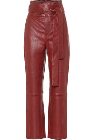 Stouls Katousha high-rise leather pants