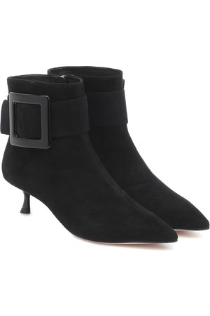 Roger Vivier Pointy suede ankle boots
