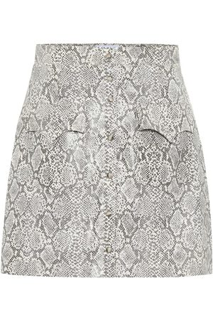 Nanushka Exclusive to Mytheresa – Erin faux snakeskin skirt