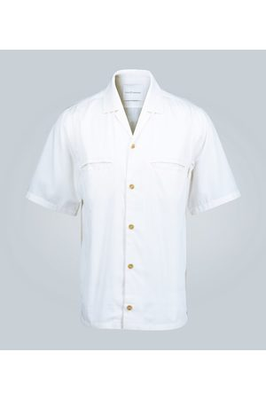 King and Tuckfield Relaxed-fit bowling shirt