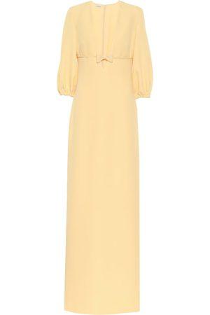 Miu Miu Crêpe gown