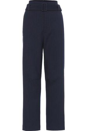 MM6 MAISON MARGIELA High-rise stretch wool-blend pants