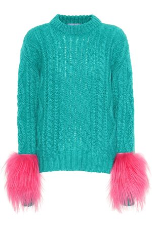 Prada Mohair and wool blend sweater