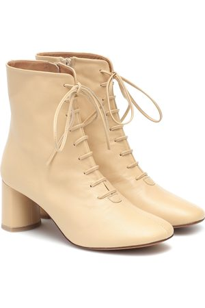 LOQ Agata leather ankle boots
