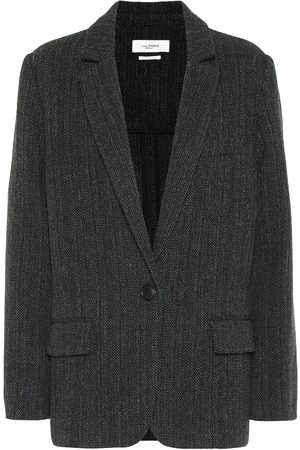 Isabel Marant Charly herringbone wool jacket