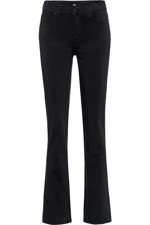 7 for all Mankind The Straight mid-rise straight jeans
