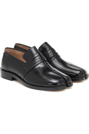 Maison Margiela Tabi patent-leather loafers