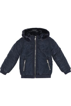Tartine Et Chocolat Reversible hooded jacket