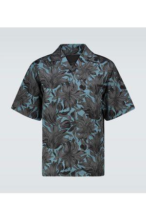 Prada Floral short-sleeved shirt