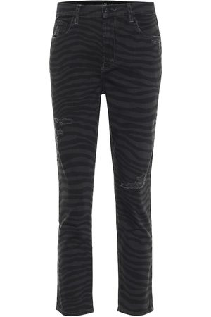 J Brand Ruby high-rise slim jeans