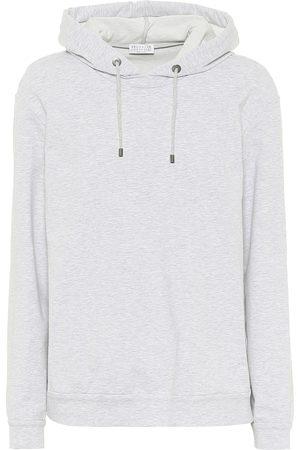 Brunello Cucinelli Cotton-blend hoodie