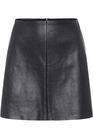 Stouls Dame Miniskjørt - Santa Maria leather miniskirt