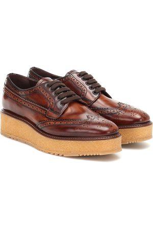 Prada Leather brogues