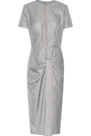 Roland Mouret Dalva wool and silk midi dress