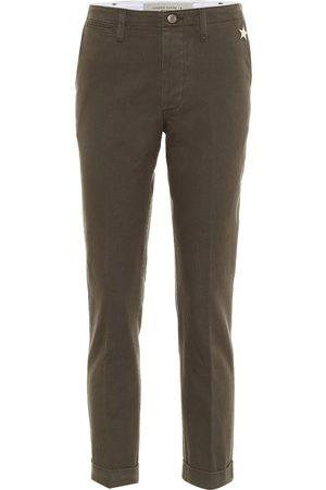 Golden Goose Megan cotton slim pants