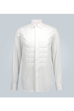 Bottega Veneta Square-quilted formal shirt