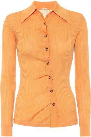 DODO BAR OR Rib-knit shirt