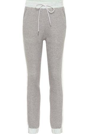 SACAI Cotton-blend jersey trackpants