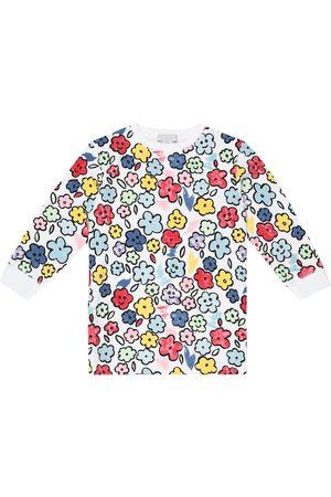Stella McCartney Floral cotton sweatshirt dress