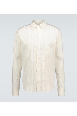 WALES BONNER Santiago Guayabera poplin shirt