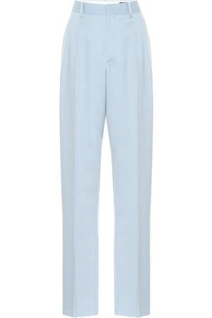 Stella McCartney Julien high-rise wool straight pants