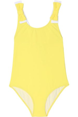 Il gufo Bow-trimmed swimsuit