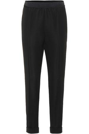 Haider Ackermann High-rise straight wool pants