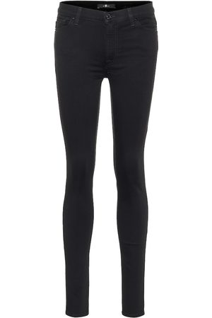 7 for all Mankind Slim Illusion high-rise skinny jeans