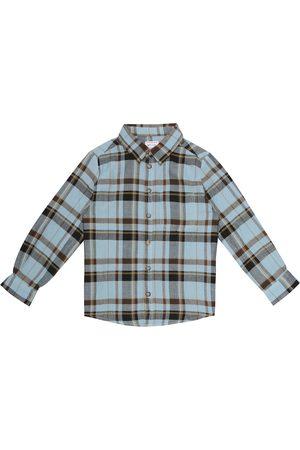 MORLEY Benjamin checked cotton shirt