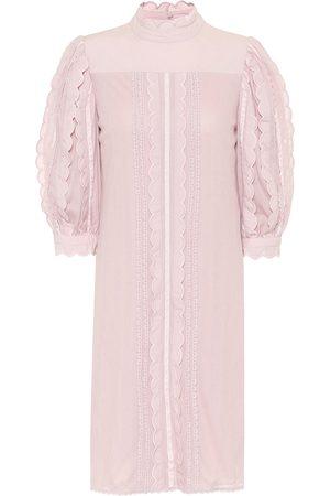 Chloé Cotton-lace dress