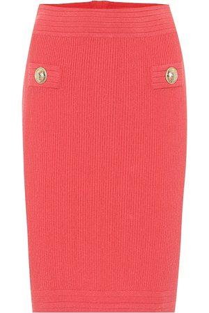 Balmain Knit midi pencil skirt