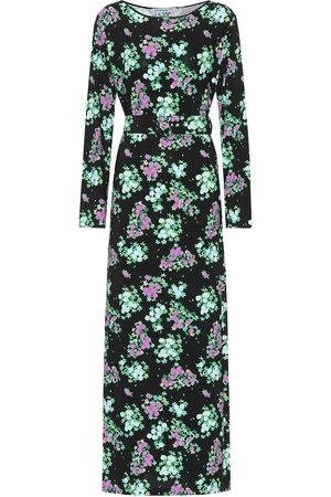 Bernadette Monica floral jersey midi dress