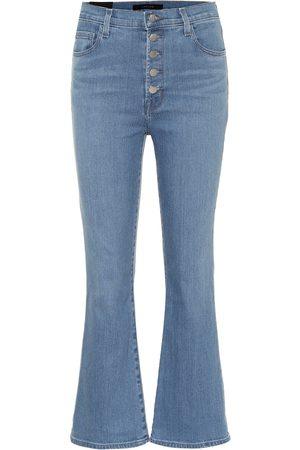 J Brand Lillie high-rise flared jeans