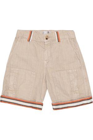 Brunello Cucinelli Exclusive to Mytheresa – Cotton-gabardine Bermuda shorts