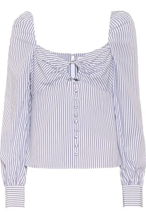 JONATHAN SIMKHAI Striped cotton shirt
