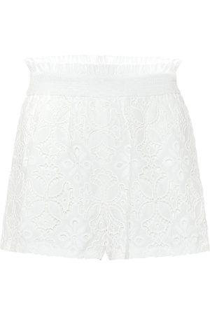 JONATHAN SIMKHAI Alexandra cotton broderie-anglaise shorts