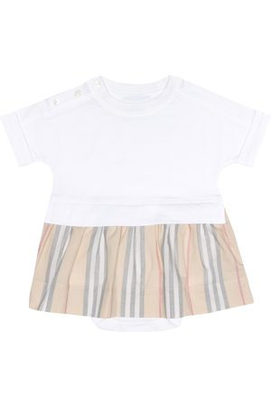 Burberry Baby cotton dress and bloomers set