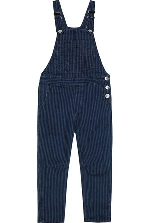 Brunello Cucinelli Exclusive to Mytheresa – Pinstriped denim overalls