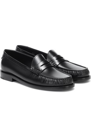 Saint Laurent Le Loafer leather slippers