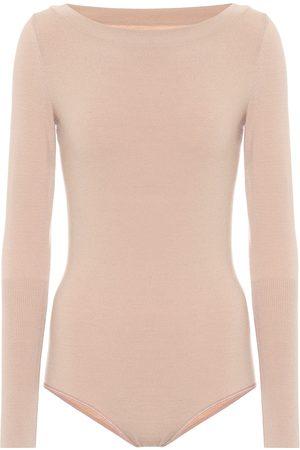 Alaïa Wool-blend bodysuit