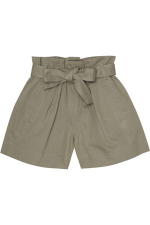 Brunello Cucinelli Cotton-blend shorts