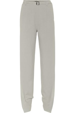 Roland Mouret Askern high-rise wool wide-leg pants