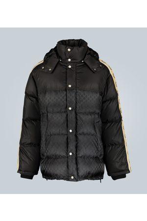 Gucci GG jacquard nylon padded coat