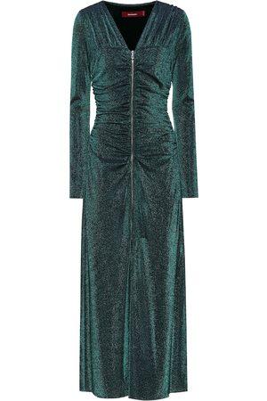 Sies marjan Jade metallic midi dress