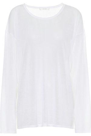 The Row Emila cotton top