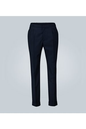 Officine Générale Drew pleated cotton pants